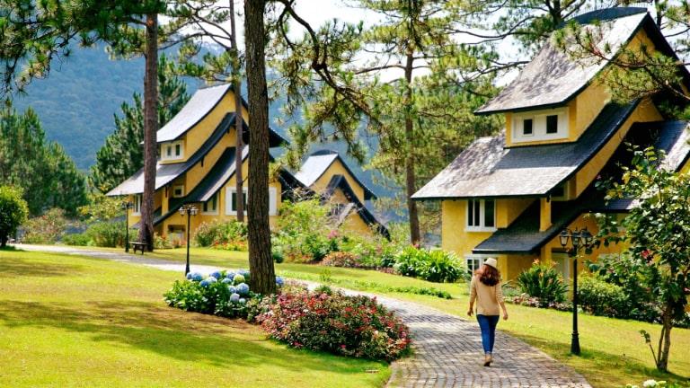 Vẻ bình yên diệu kỳ của resort Bình An Village