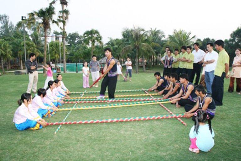 Các trò chơi dân gian của resort Asean