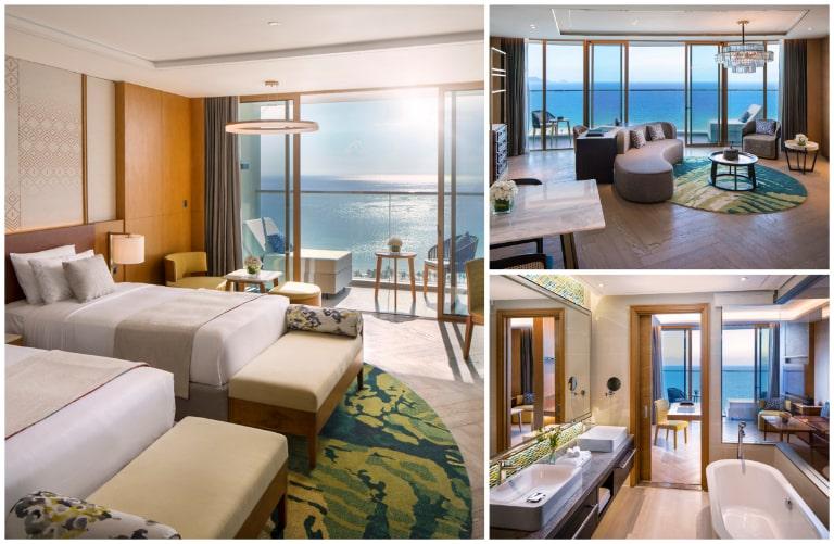 Phòng nghỉ tiện nghi của resort Cam Ranh