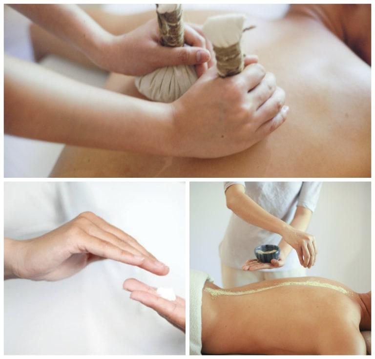 Liệu pháp tắm muối tại resort Fushion
