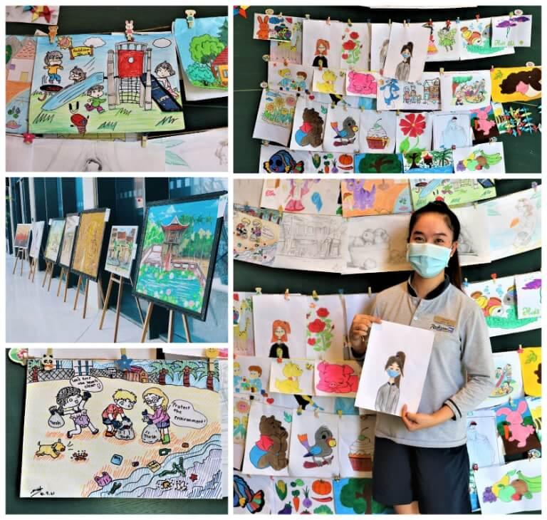 Hoạt đông vẽ tranh được Resort Radisson Blu tổ chức thường xuyên