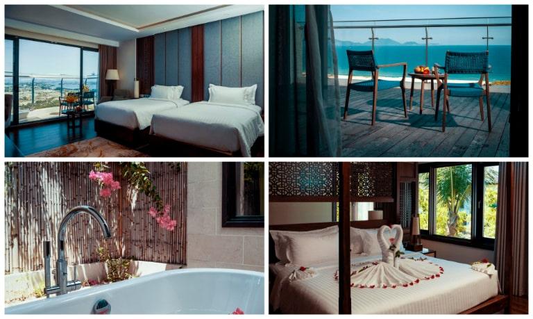 Những căn phòng ngập ánh nắng tại resort Cam Ranh Duyên Hà