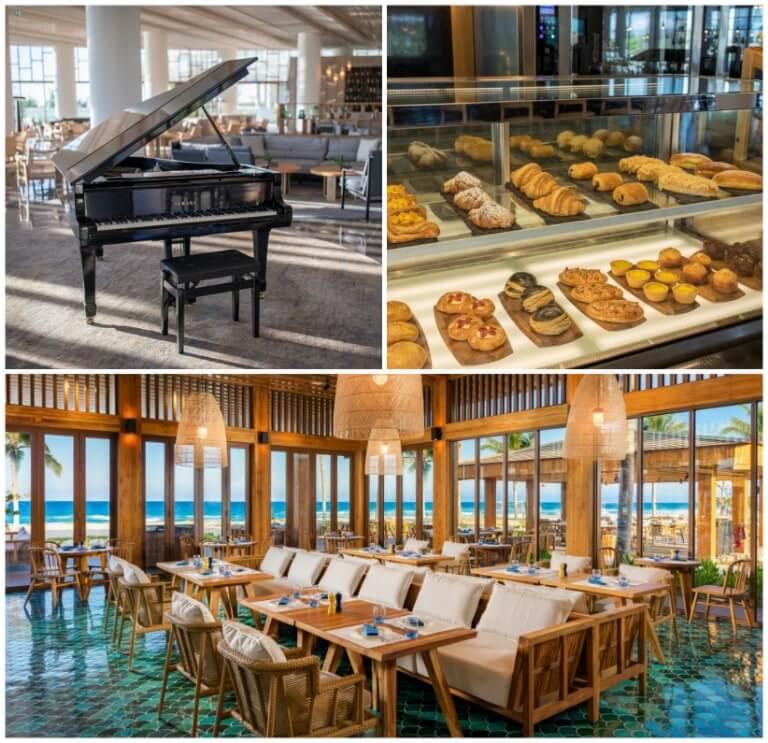 Nhà hàng phong cách quý tộc châu âu của resort Cam Ranh Alma