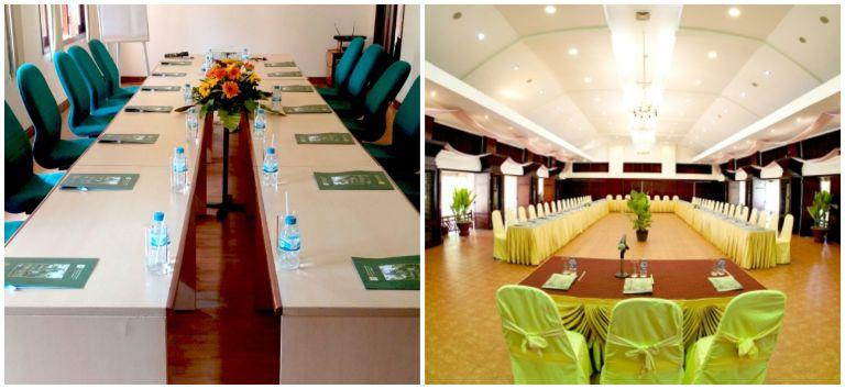Không gian phòng họp resort Cần Giờ