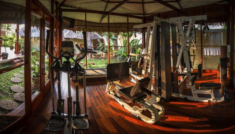 Hệ thống phòng gym tại resort Cần Thơ