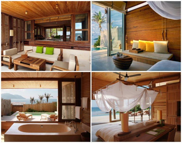 Kiến trúc các căn phòng nghỉ
