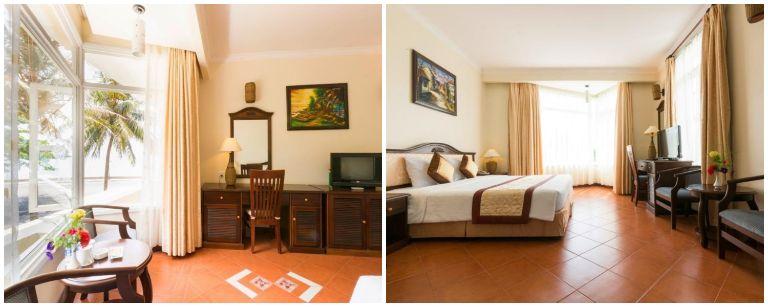 Không gian căn phòng nghỉ - Resort Côn Đảo