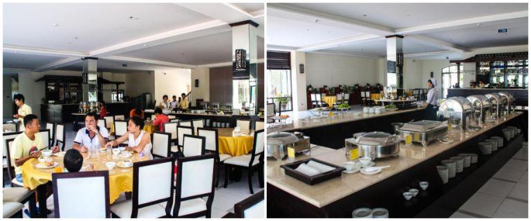 Không gian tại nhà hàng Côn Đảo