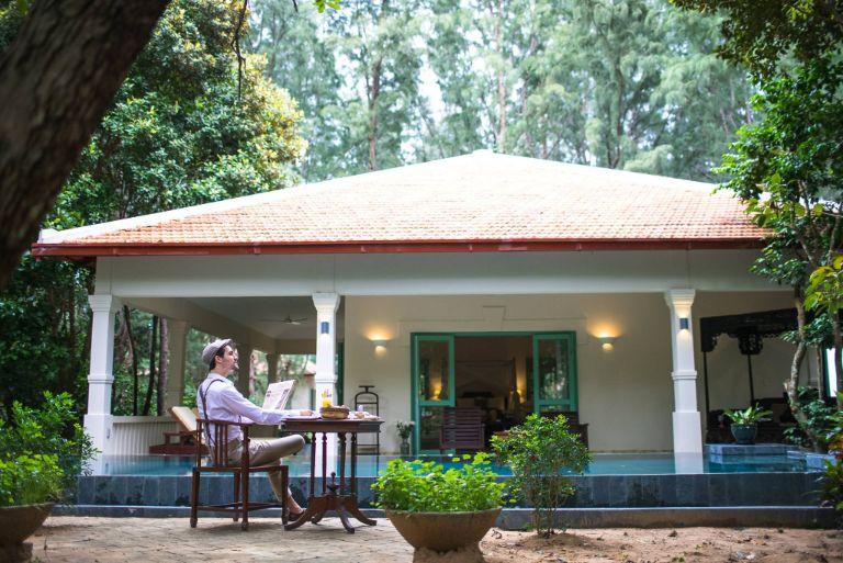 Không gian của resort Côn Đảo