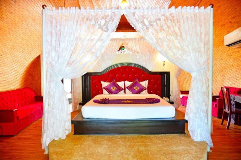 Phòng Double Bungalow - Resort Cồn Khương