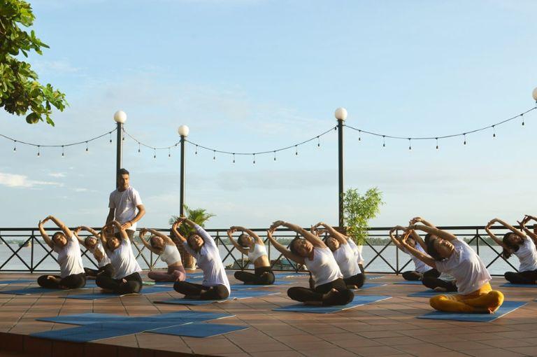 Các lớp học yoga