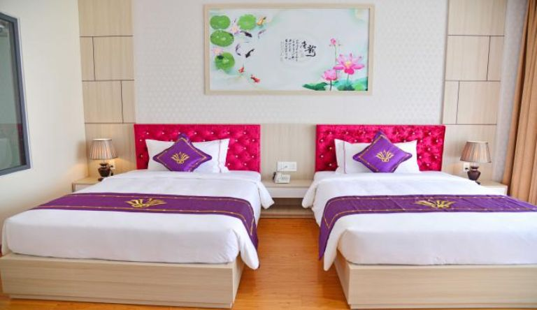 Phòng deluxe twin room