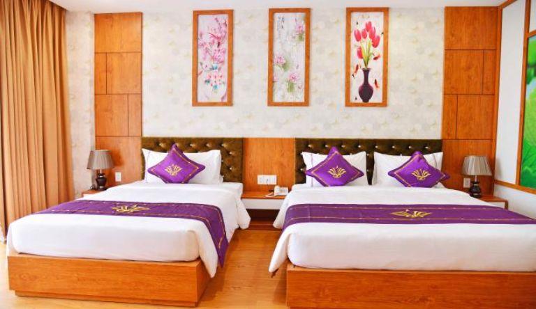 Deluxe Triple Room - Resort Cồn Khương
