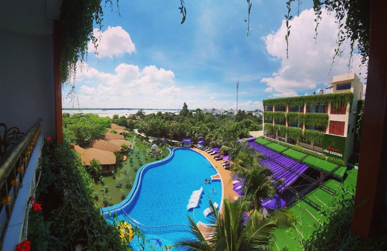 Khu resort nhìn từ trên