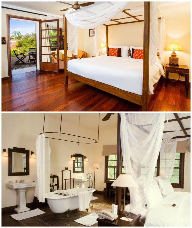 Nội thất đầy đủ tiện nghi của Ana Mandara Villas resort Đà Lạt
