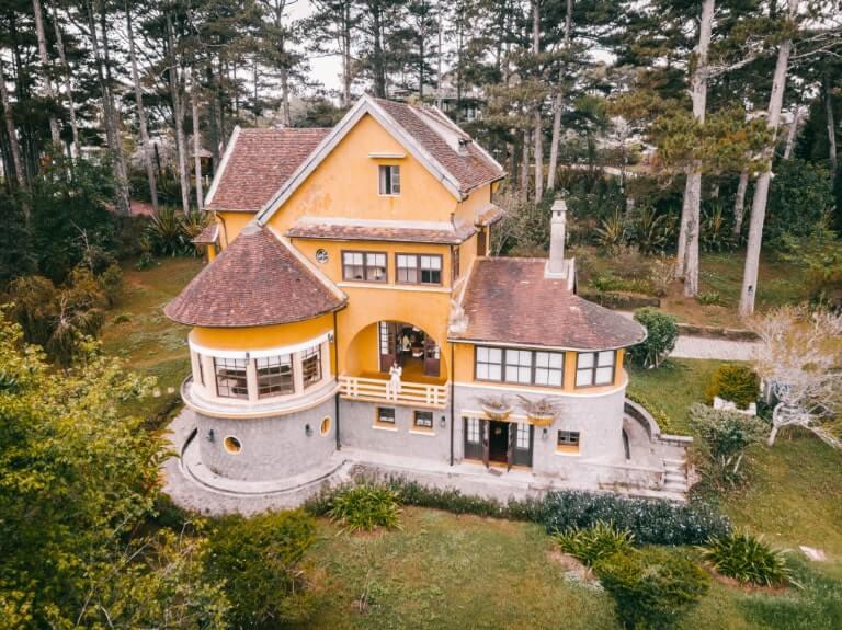 Không gian mộng mơ của Ana Mandara Villas resort Đà Lạt.