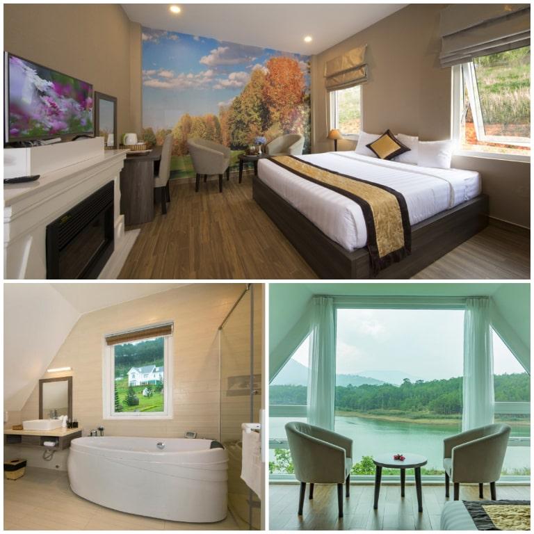 Không gian nội thất ấn tượng với các thiết kế tối giản, hiện đại