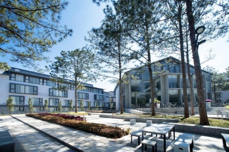 Kiến trúc tráng lệ của Terracotta resort Đà Lạt