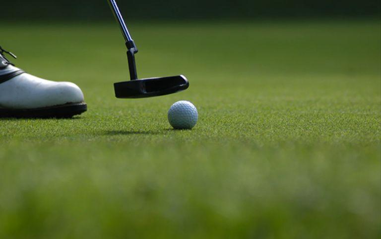 Sân golf tại resort Duyên Hà