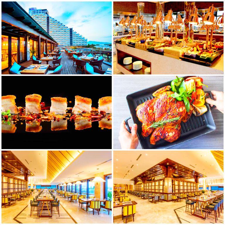 Nhà hàng Xin Mời tại resort Duyên Hà