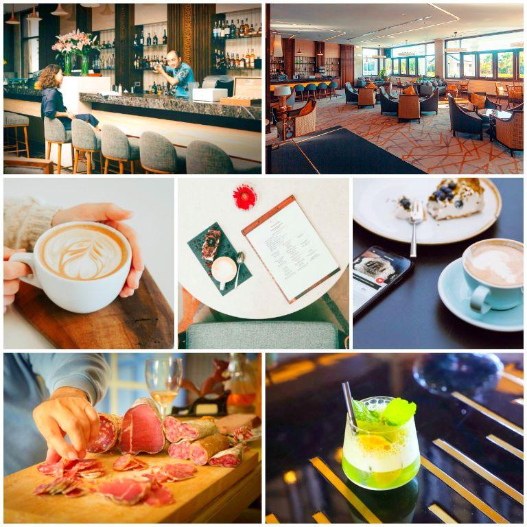 Bánh Bánh Cafe Lounge tại resort Duyên Hà