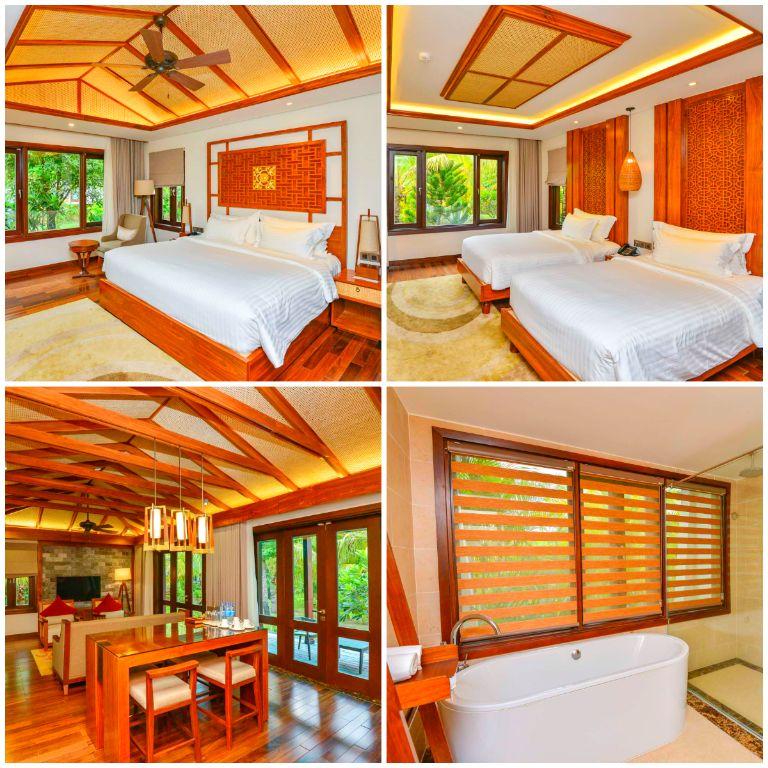 Biệt thự 2 phòng ngủ có hồ bơi