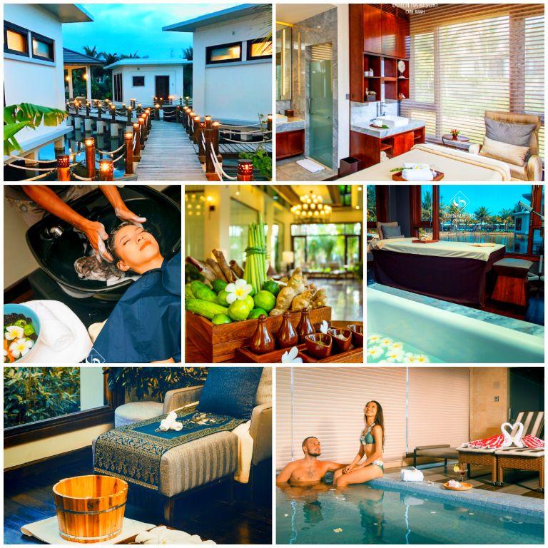 Lagoona Spa tại resort Duyên Hà