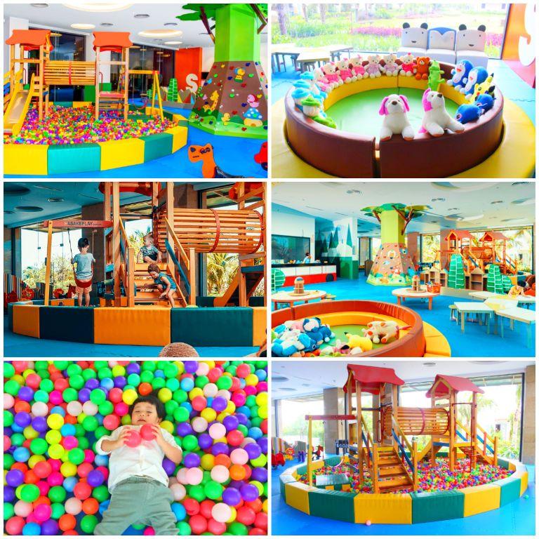 Câu lạc bộ trẻ em Kids Club tại resort Duyên Hà