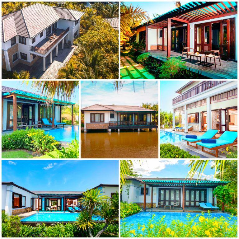 Chi tiết các hạng phòng và giá phòng Duyên Hà resort Cam Ranh