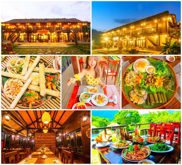 Ẩm thực độc đáo ở resort Ecolodge Mai Châu