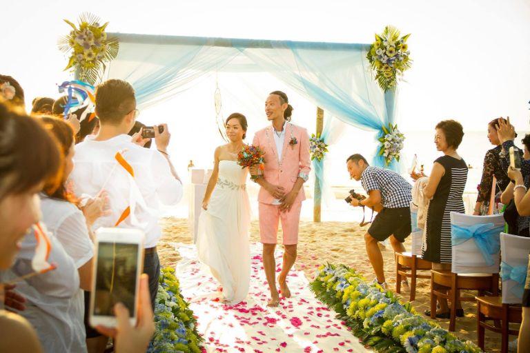 Tổ chức lễ cưới ở resort Eden Phú Quốc