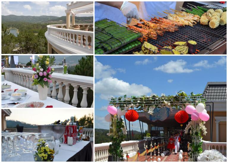Địa điểm lý tưởng để tổ chức các buổi tiệc tại resort Edensee