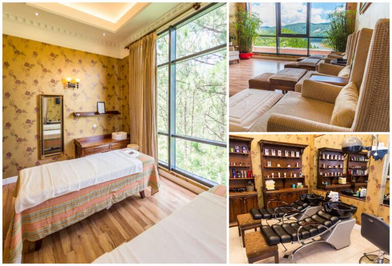 Cơ sở vật chất spa chăm sóc sắc đẹp của resort Edensee