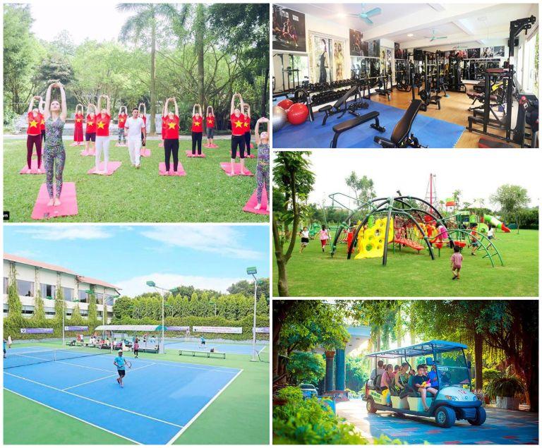 Các dịch vụ tiện ích của Sông Hồng - Resort gần Hà Nội