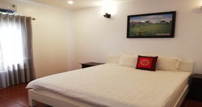 Không gian phòng ngủ - Resort gần Hà Nội