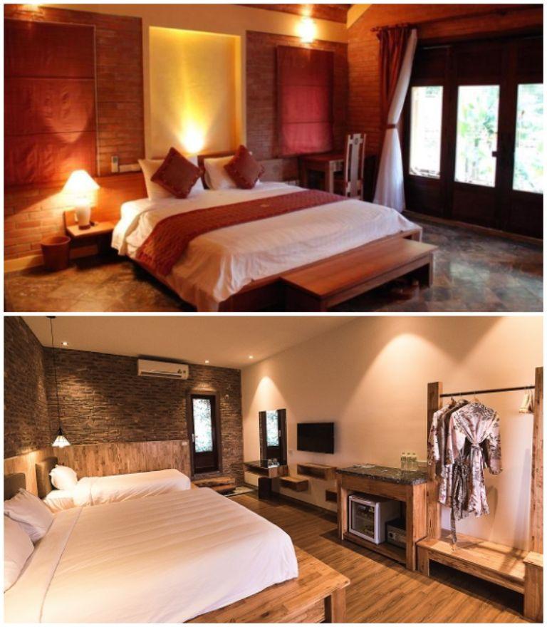Hệ thống phòng ngủ- Resort gần Hà Nội