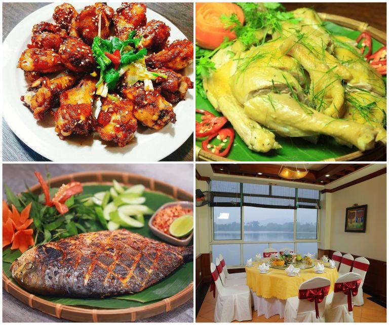 Ẩm thực của khu resort gần Hà Nội