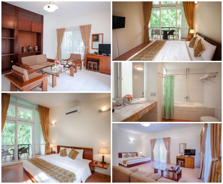Phòng ngủ tại V - Resort gần Hà Nội