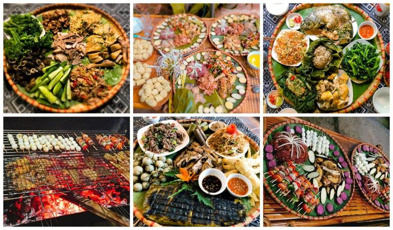 Ẩm thực độc đáo tại Mai Châu Sky Resort Hòa Bình
