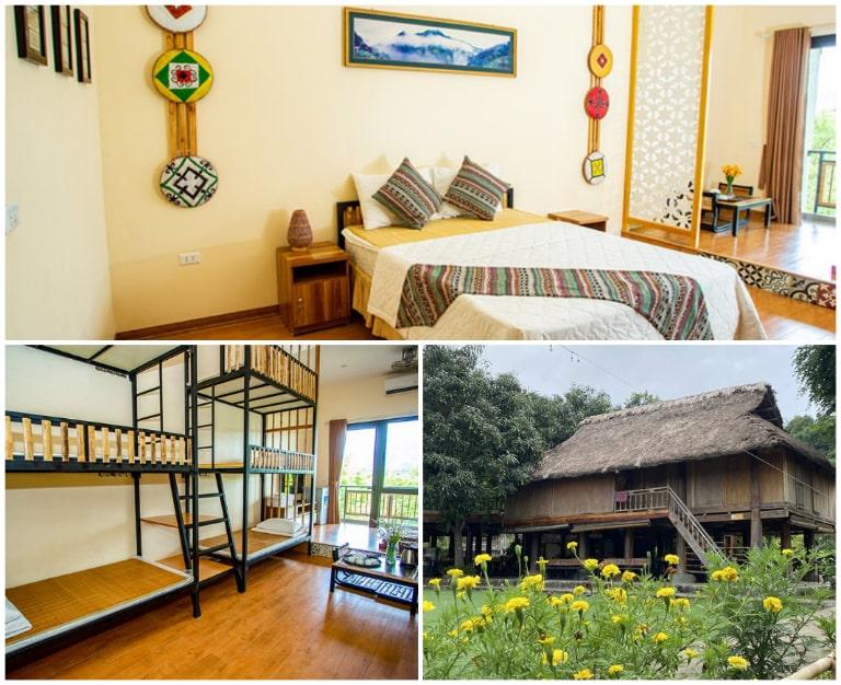 Phòng nghỉ đa dạng tại resort An Lạc Hải Phòng