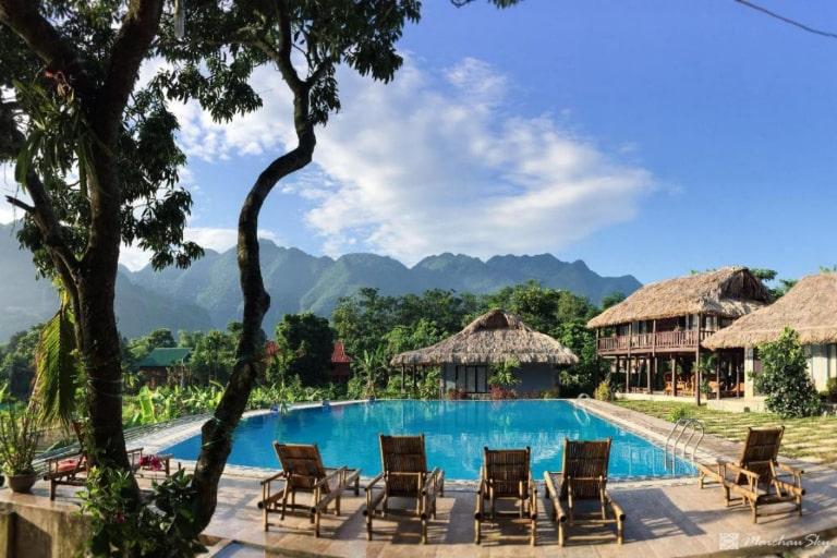 Thiên đường nghỉ dưỡng giữa thung lũng Mai Châu Hòa Bình