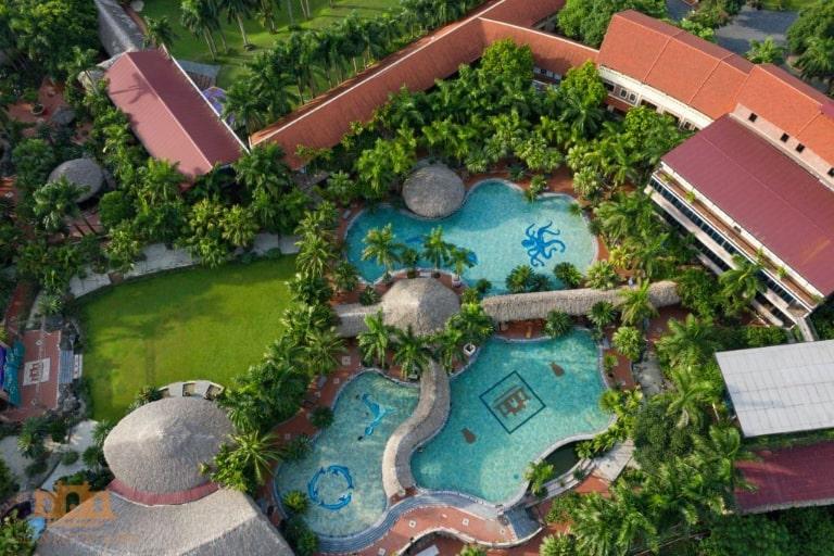 Toàn cảnh của Asean resort Hòa Bình