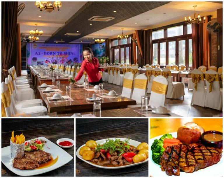 Không gian ẩm thực của Asean resort