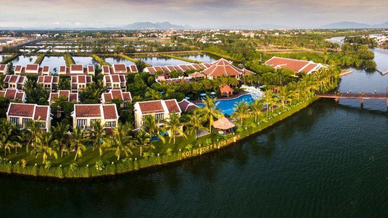 Toàn cảnh Koi Resort & Spa - Resort Hội An