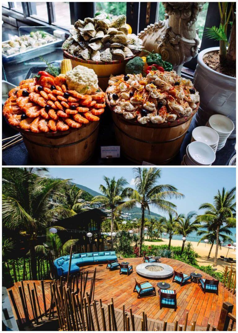 Nhà hàng hướng biển Barefoot