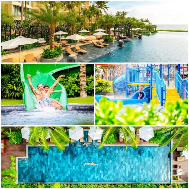 Vista Pool tại Resort Intercontinental Phú Quốc