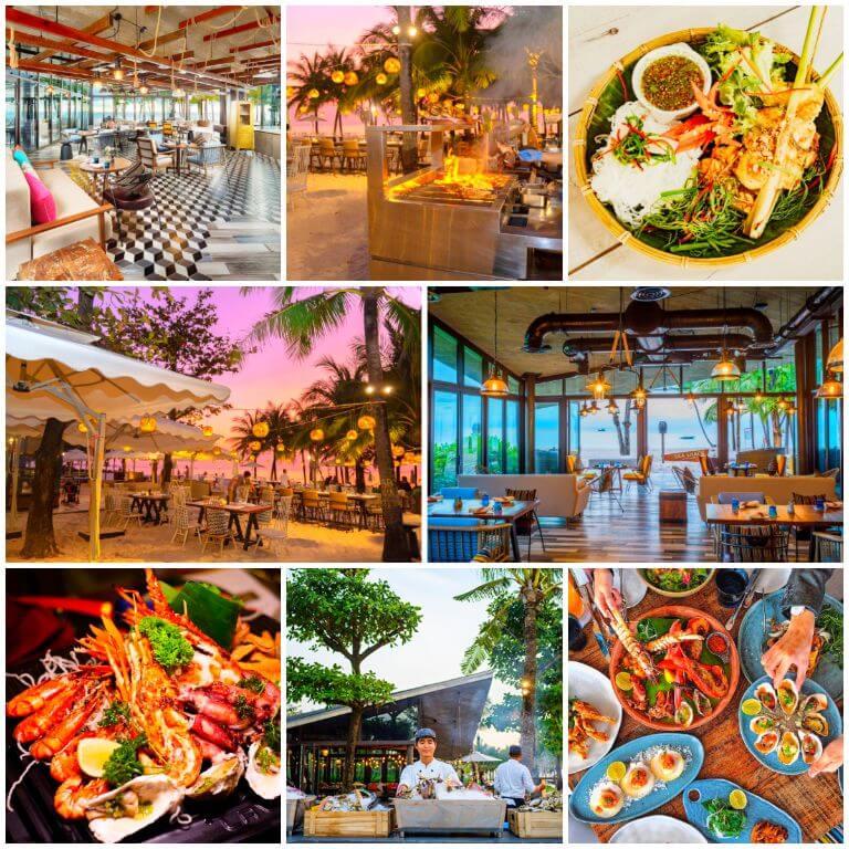 Nhà hàng Sea Shack tại Resort Intercontinental Phú Quốc