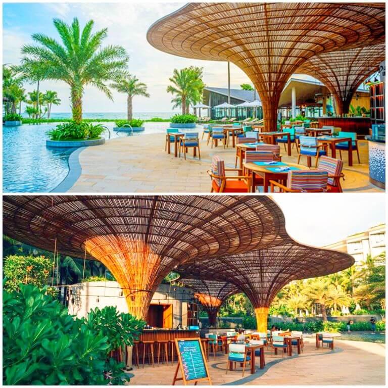 Nhà hàng Ombra tại Resort Intercontinental Phú Quốc