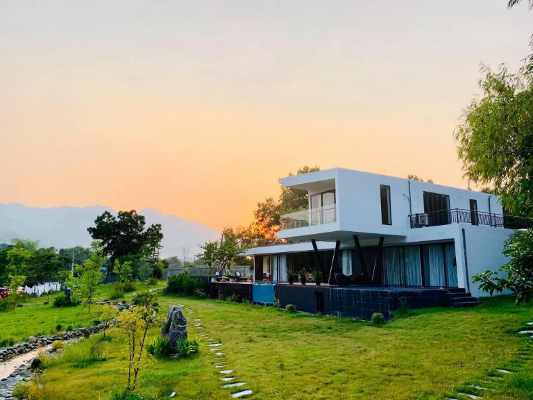 Biệt thự nghỉ dưỡng khoáng nóng L'Plus Mansion tại Kim Bôi Hòa Bình