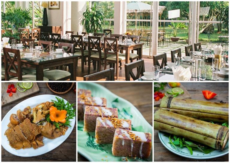 Không gian ẩm thực đa dạng tại V resort Kim Bôi Hòa Bình